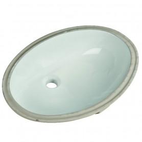 Lavabo Incasso Sottopiano in Ceramica Bianco