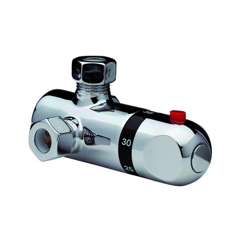 Miscelatore Termostatico Sotto Boiler Serie Dorado ART.42.01H.CR