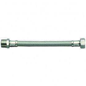 """Flessibile per Acqua in Acciaio Inox cm35    M.1/2"""" F.3/8"""" ART.00124"""