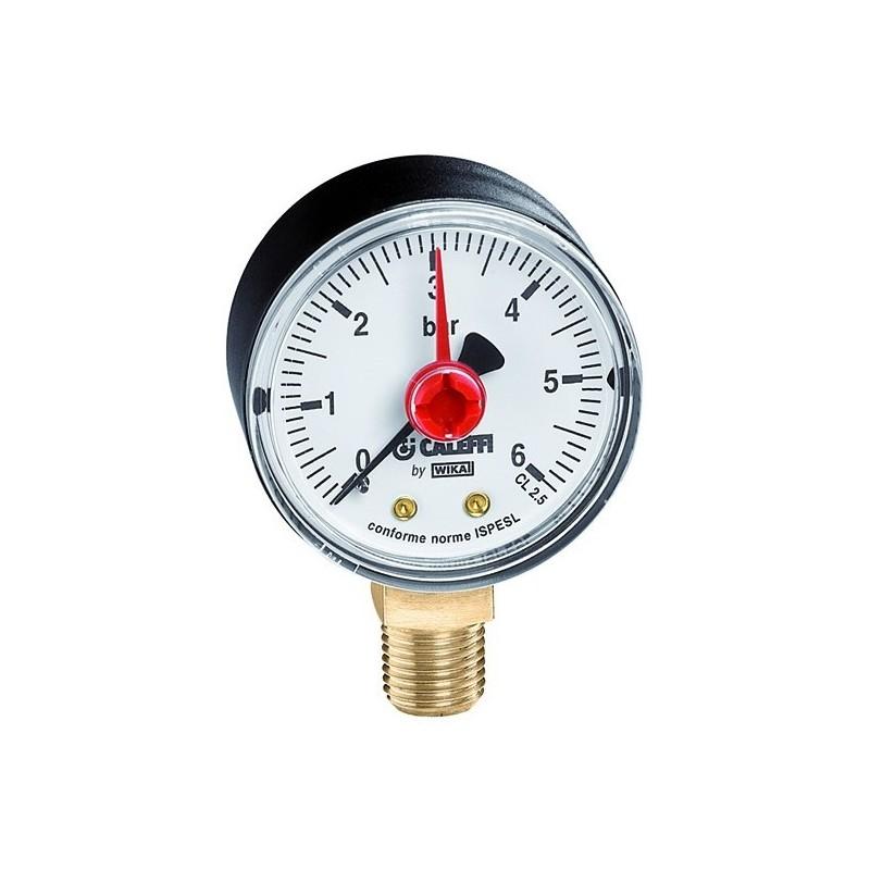 Manometro Gas Attacco Radiale