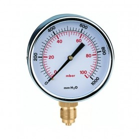 Manometro Gas Attacco Radiale ART.846103