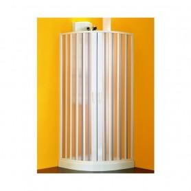 Box Doccia Semicircolare a Soffietto Serie Colibri Sfera Plus cm90x90x185h ART.BP1410001