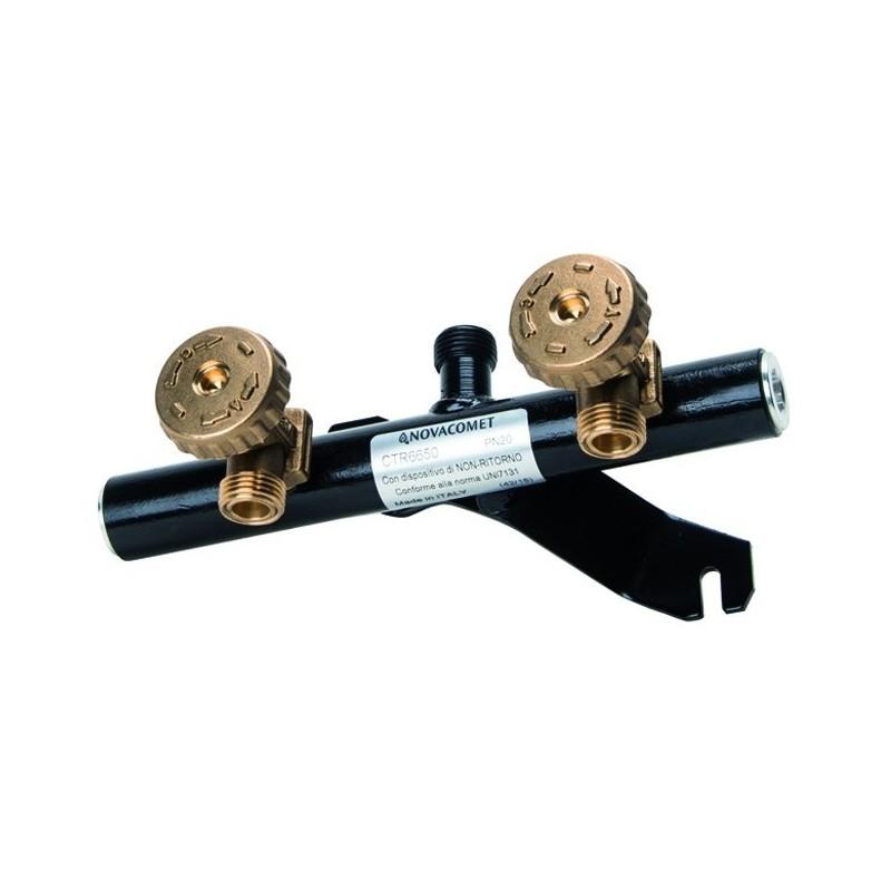 Centralina Gas due Rubinetti ART.006650AB