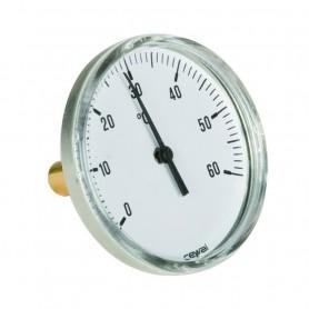 Termometro Corpo Inox Attacco Posteriore