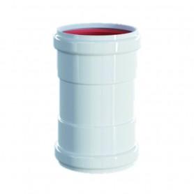 Manicotto Alluminio Estruso Bianco ART.PU100070