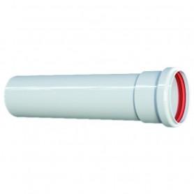 Tubo Alluminio Estruso Bianco ART.PU255203