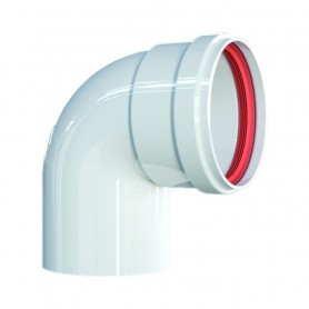 Curva 90° Alluminio Pressofuso Bianca ART.PU295201