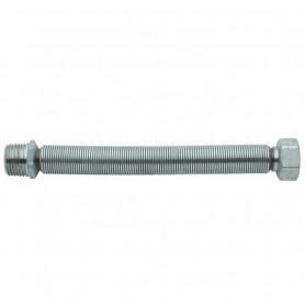 """Flessibile in Acciaio Inox per Acqua         Estensibile mm130-220 M.F.1/2"""""""
