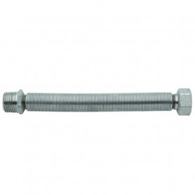 """Flessibile in Acciaio Inox per Acqua         Estensibile mm130-220 M.F.1"""""""