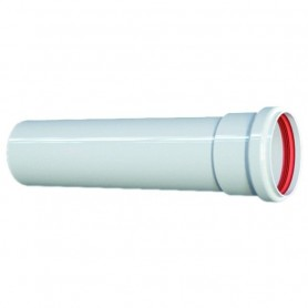 Tubo Alluminio Estruso Bianco ART.PU255209
