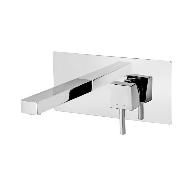 Miscelatore Monocomando Lavabo Incasso Cromo Serie Level ART.LEA101CR