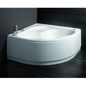 Vasca in Acrilico Bianco con Telaio Glass Serie Astor cm140x140 ART.FG000D000010000