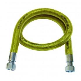 """Flessibile per gas in Acciaio Inox Rivestito  marchio F.F.1/2"""" 150 cm"""