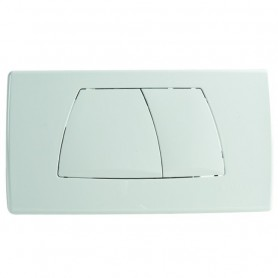 Placca 2 Tasti Geberit Serie Twico Bianca ART.115.888.11.1