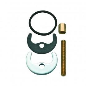 Kit Fissaggio Cromo per Miscelatori          Monocomando ART.TPFIX10000