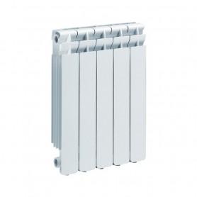 Termosifone Radiatore Pressofuso in AlluminioBianco Serie Kaldo60 mm95x80x681h