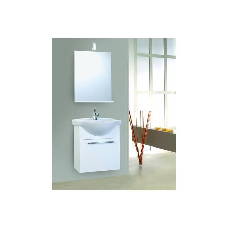 Composizione da bagno sospesa savini serie ginevra - Mobili bagno savini ...
