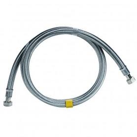 """Flessibile per Gas in Acciaio Inox 50 cm  F.F.1/2"""" marchio Parigi"""