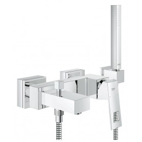 Miscelatore Monocomando Vasca Cromo con      Doccia Serie Eurocube ART.23141000