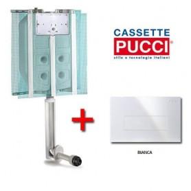 Cassetta ad Incasso Pucci Serie Sara con     Placca Bianca