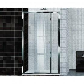 Porta Doccia Scorrevole in Cristallo Serie Easy cm115/121x195h ART.E2D0ATR0