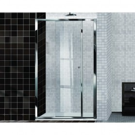 Porta Doccia Scorrevole in Cristallo Serie   Easy cm136/142x195h ART.E2L0ATR0