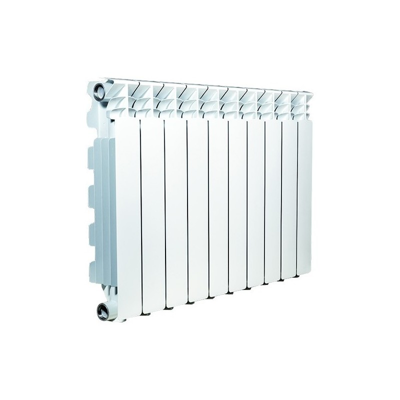 Radiatore Pressofuso in Alluminio Bianco Serie Desideryo60 mm97x80x657h ART.V66404408