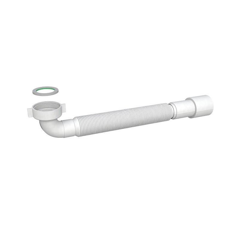 Tubo Flessibile ed Estensibile con Attacco   Curvo a 90° ART.9374FM54B0
