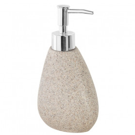 Dispenser Bagno in Poliresina Effetto Pietra Sabbia Serie Stone ART.442001