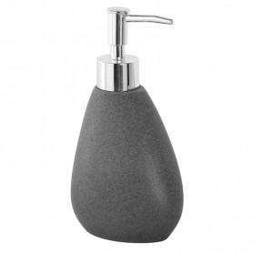Dispenser Bagno in Poliresina Effetto Pietra Grigio Serie Stone ART.442005
