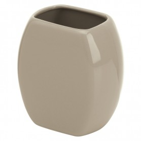 Portaspazzolino Bagno in Ceramica Tortora Serie Parigi ART.275028