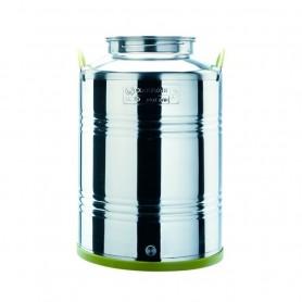 Contenitore in Acciaio Inox per Olio Modello Jolly Lt100 ART.3371020130004