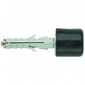 Tassello di Fissaggio con Vite e Paracolpi   Nero Modello ENP/FPN940 ø9x40mm ART.8700040