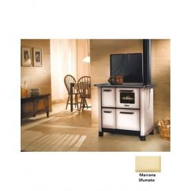 Cucina a Legna Marrone Sfumato Serie Classica450 ART.1514406