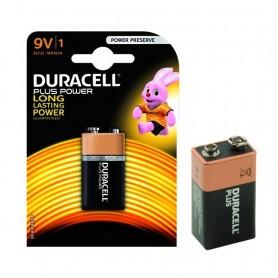 Batteria Duracell Plus Alcaline Transistor 9VBlister 1 Batteria ART.DU0501