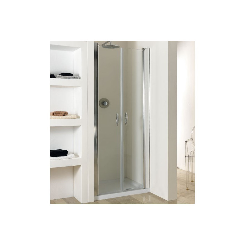 Porta Saloon in Cristallo 6mm Modello Venere 85x195cm ART.WOOD79-84ALLTRSP