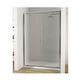 Porta Anta Scorrevole box doccia in Cristallo 6 mm 130x195 cm