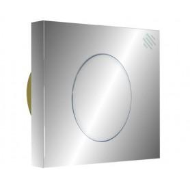 Pulsante Quadrato per Batteria a Cassetta    Alta Cromo Serie Iquadro ART.IQ002