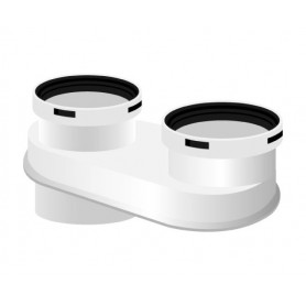 Kit Scarichi Separati Baxi per Caldaie a     Condensazione ø80/80
