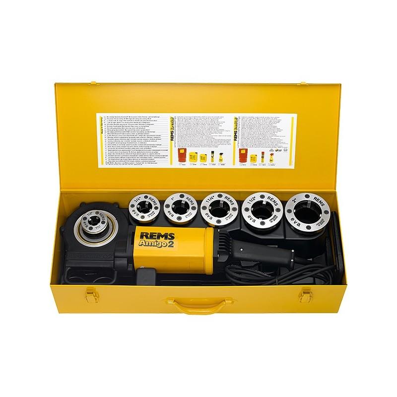 "Filiera Elettrica Portatile Modello Amigo 2 ø1/2""-2"" ART.540020"