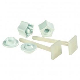 Coppia Cerniere in Plastica ART.100300602
