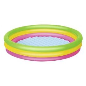 Piscina Gonfiabile Tonda Arcobaleno Summer Wave ø152cm x H30cm ART.51103