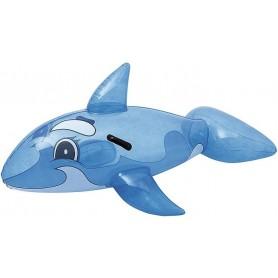 Cavalcabile Balena Trasparente 115x80cm xH56 cm ART.41036