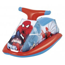 Cavalcabile Moto Acqua Spiderman 85x37cm 85x37cm xH38cm ART.98012