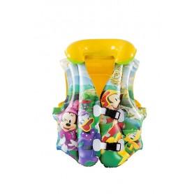 Giubbotto Galleggiante per Bambini Modello   Mickey Clubhouse 44x33cm xH18cm ART.91030