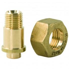 Raccordo con Dado per Regolatore Gas ART.147010+147