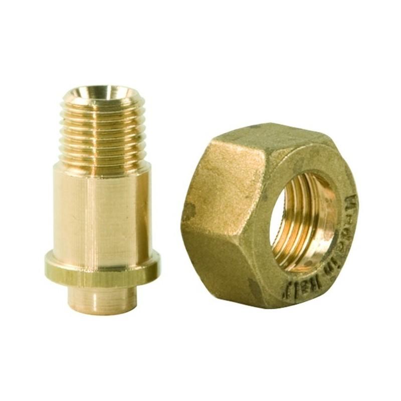 Raccordo con Dado Regolatore Gas Codice ART.147010+147