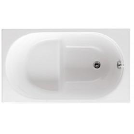 Vasca in Vetroresina da Incasso con Sedile Glass Serie Astor cm105x70 ART.91000A00000000