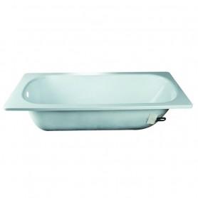 Vasca in Acciaio Porcellanato da Incasso Standard Smavit cm120x70 ART.1120101