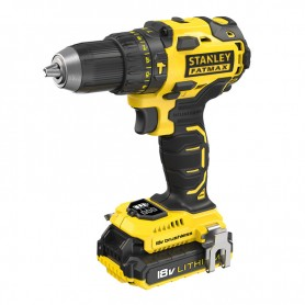 Trapano Avvitatore a Percussione Brushless   18V 2.0AH Stanley FatMax FMC627D2-QW